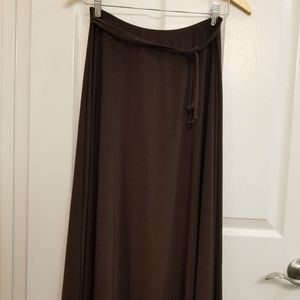 Chocolate Brown JasonMaxwell Skirt